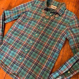 J.Crew Boy Fit Button-Down